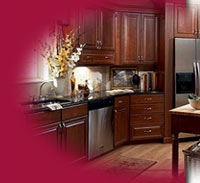 KraftMaid Cherry Kitchen Cabinets